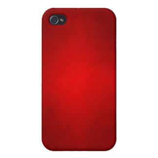 Christmas Red Crimson Parchment Gradient Template iPhone 4 Cover