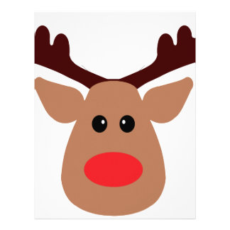Rudolph The Red Nosed Reindeer Face Template | New Calendar Template ...
