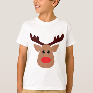 Christmas Red Nosed Reindeer T-Shirt