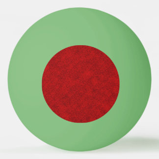 Christmas Red Texture Design Ping Pong Ball