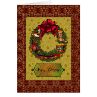 Christmas Reef and Toys Card