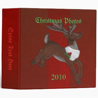 Christmas Reindeer Binder