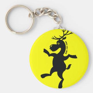 Christmas Reindeer Exercising Keychains