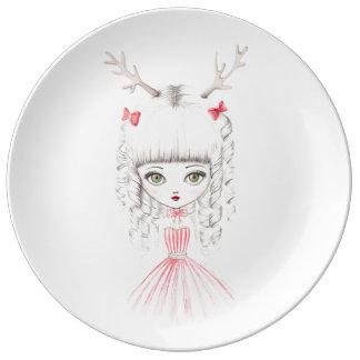 christmas Reindeer fraud Plate