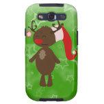 Christmas Reindeer Galaxy S3 Case