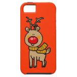 Christmas reindeer iPhone 5 case