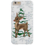 Christmas Reindeer iPhone 6 plus barely there case Barely There iPhone 6 Plus Case