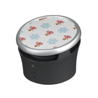 Christmas Reindeer Pattern Bluetooth Speaker