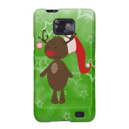 Christmas Reindeer Samsung Galaxy SII Case