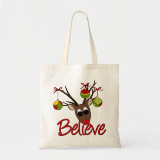 Christmas Reindeer tote bag