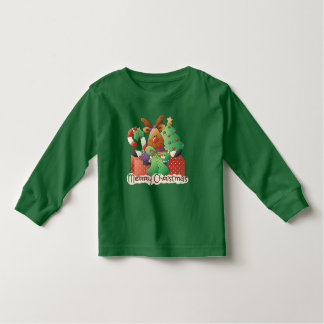 Christmas reindeer unisex toddler t-shirt