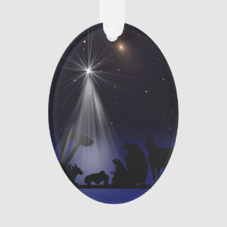 Christmas, Religious, Nativity, Stars