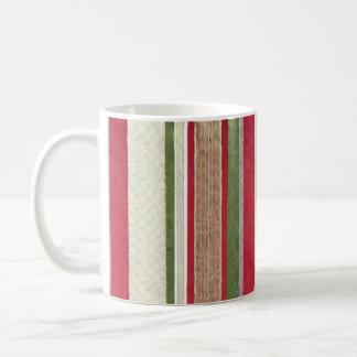 Christmas Ribbon Coffee Mug