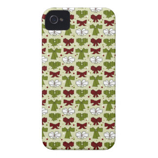 Christmas Ribbons & Bows Case-Mate iPhone 4 Cases