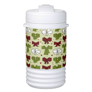 Christmas Ribbons & Bows Drinks Cooler