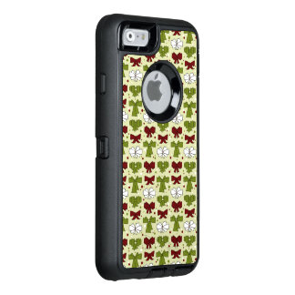Christmas Ribbons & Bows OtterBox Defender iPhone Case