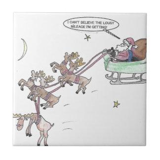 Christmas Ride Tile