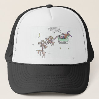 Christmas Ride Trucker Hat