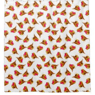 Christmas Robin, white background, customise me.