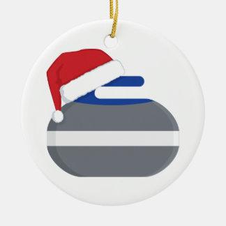 Christmas Rocks curling ornament