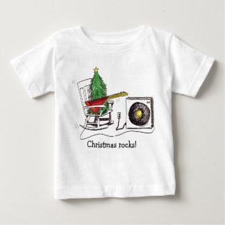 Christmas rocks! Infant T Baby T-Shirt
