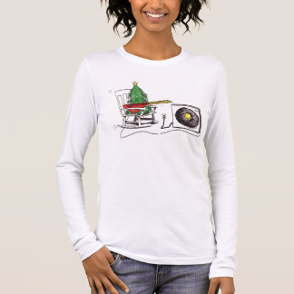 Christmas Rocks Ladies T Long Sleeve T-Shirt