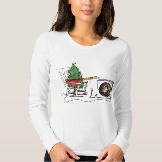 Christmas Rocks Ladies T Tee Shirt