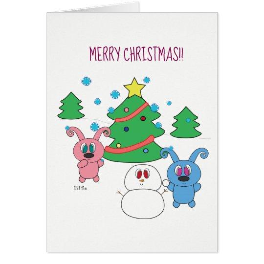 Christmas Rollys - A Christmas card