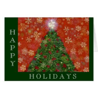 Christmas Rose Card - Customized