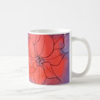 Christmas Rose Coffee Mug