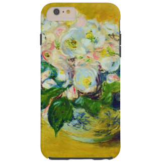 Christmas Rose Flowers Tough iPhone 6 Plus Case