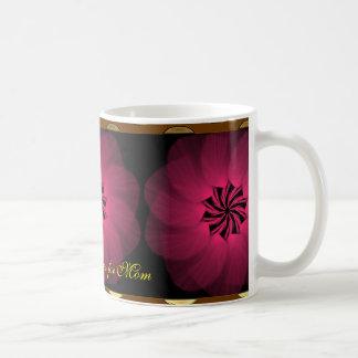 Christmas Roses for Mom Classic White Mug