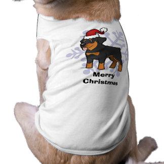 Christmas Rottweiler Shirt