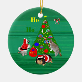 Christmas Round Ornament