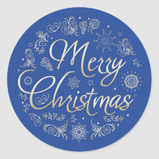 Christmas Round Sticker