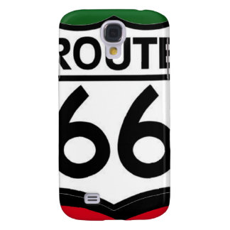 Christmas Route 66 Shield