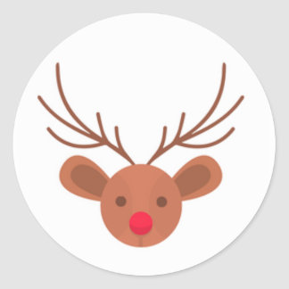 Christmas Rudolph Reindeer Stickers