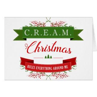 Christmas Rules Everything Around Me! Card