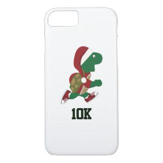 Christmas Running Turtle 10K iPhone 7 Case
