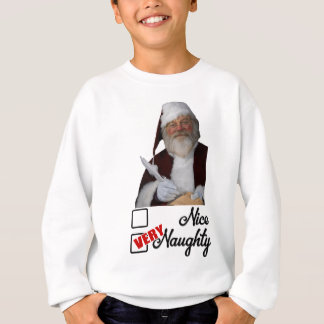 Christmas Saint NIcholas naughty list Sweatshirt