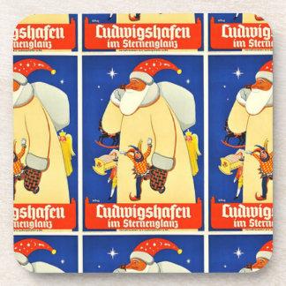 Christmas Saint Nick Germany Coaster
