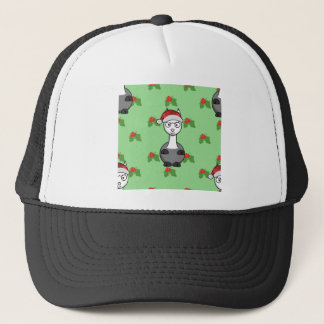 christmas santa Alpaca Trucker Hat