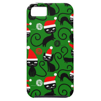 christmas santa cats case for the iPhone 5