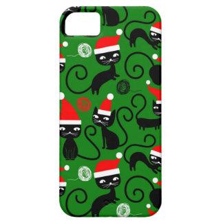 christmas santa cats iPhone 5 cover