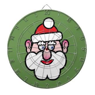 Christmas Santa Claus 1.0 Dartboard