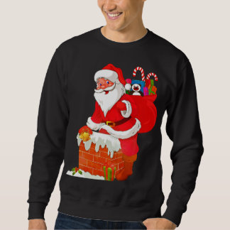Christmas Santa Claus Basic Sweatshirt