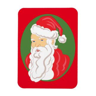 Christmas Santa Claus Cameo Magnet