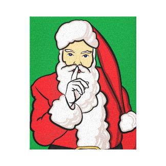 Christmas Santa Claus Canvas Print