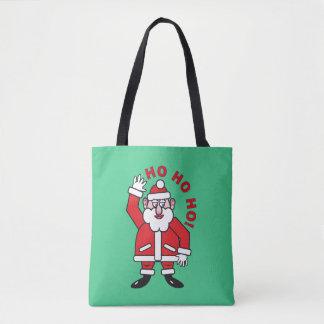 Christmas Santa Claus HO HO HO! 02.8 Tote Bag