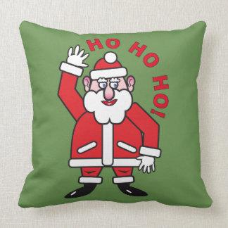 Christmas Santa Claus HO HO HO! 03.2 Throw Pillow